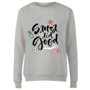 Santa Did Good Women's Sweatshirt - Grey
