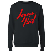 Joyeux Noel Holly Jolly international Women's Sweatshirt - Black