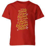 International Reindeer Kids' T-Shirt - Red