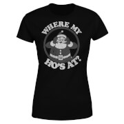 Where My Ho's At Black Women's T-Shirt - Black