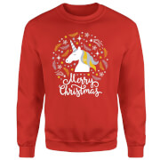 Sweat Homme Licorne - Rouge