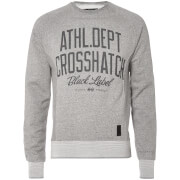 Crosshatch Men's Truman Sweatshirt - Grey Marl