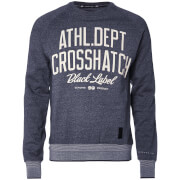 Crosshatch Men's Truman Sweatshirt - Mood Indigo Marl