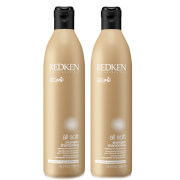 Redken All Soft Shampoo Duo (2 x 500ml)