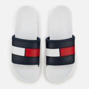 Tommy Hilfiger Men's Splash Slide Sandals - White