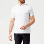 Emporio Armani Men's Basic Regular Fit Polo Shirt - White