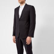 Emporio Armani Men's 2 Button Single Breasted Suit - Notte