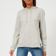 Karl Lagerfeld Women's Logo Hoody - Grey