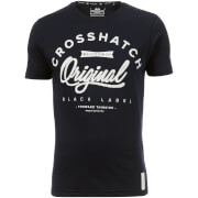 Crosshatch Men's Freemans T-Shirt - Night Sky
