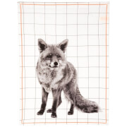 Cotton Tea Towel - Fox