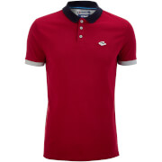 Le Shark Men's Langstone Polo Shirt - LS Red