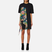 MSGM Women's T-Shirt Dress - Black