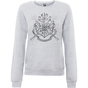Sweat Femme Draco Dormiens Nunquam Titillandus - Harry Potter - Gris