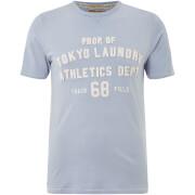 Tokyo Laundry Men's Henryville T-Shirt - Blue Fog
