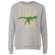 Tree Rex Frauen Sweatshirt - Grau