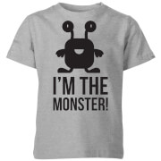 I'm the Monster Kids' T-Shirt - Grey
