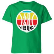 40 40 Deuce Kids' T-Shirt - Kelly Green