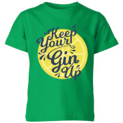 Keep Your Gin Up Kids' T-Shirt - Kelly Green