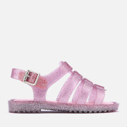 Mini Melissa Toddlers Flox 19 Sandals - Pink Glitter
