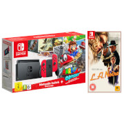 Nintendo Switch Super Mario Odyssey Limited Edition Bundle & LA Noire Remastered