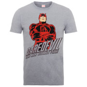 T-Shirts Homme The Man Without Fear - Daredevil - Marvel Comics - Gris
