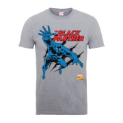 Marvel Comics The Black Panther Heren T-shirt - Grijs