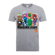 Marvel Comics Inhumans Men's Grey T-Shirt