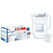 BRITA MAXTRA+ Style Grey Water Filter Jug and 6 Pack Cartridges