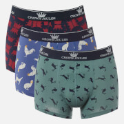 Joules Men's Crowne Joules Boxer 3 Pack - Bits and Pieces