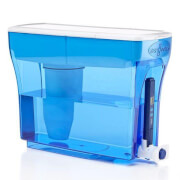 ZeroWater 23-Cup Water Filtration Dispenser - 5.4L - Blue