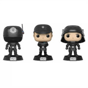 Pack Exclusivo 3 Figuras Pop! Vinyl Artillero, Oficial y Soldado - Star Wars