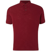 Polo Homme Slub D-Struct - Bordeaux