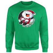 Odd1sOut Odd Christmas Green Sweatshirt