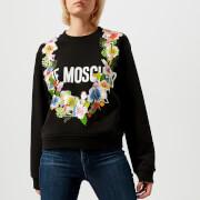 Love Moschino Women's Garland Sweatshirt - Black