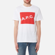 A.P.C. Men's Kraft Printed T-Shirt - Rouge