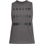 Under Armour Women's Graphic Muscle Tank Top - Grey