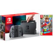 Nintendo Switch Grey with Super Mario Odyssey