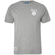 UCLA Men's Yuma Chest Logo T-Shirt - Light Grey Marl