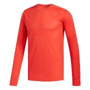 adidas Men's Supernova Long Sleeved Running Top - Red