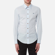 Vivienne Westwood MAN Men's Classic Poplin Stretch Shirt - Sky