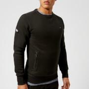 Superdry Men's Orange Label Urban Crew Sweatshirt - Deep Night Marl Space Dye