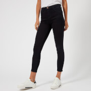 J Brand Women's Alana High Rise Cropped Skinny Jeans - Bluebird