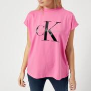 Calvin Klein Women's CK Logo T-Shirt - Wild Orchard
