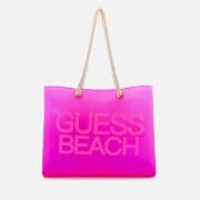 Guess Women's Beach Bag - Fierce Purple