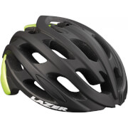 Lazer Blade Helmet - Black/Flash Yellow