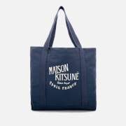 Maison Kitsuné Men's Palais Royal Shopping Bag - Blue