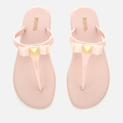 MICHAEL MICHAEL KORS Women's Caroline Jelly Toe Post Sandals - Soft Pink
