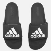 adidas Men's Adilette Logo Slide Sandals - Core Black