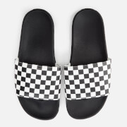 Vans Men's Checkerboard Slide Sandals - White