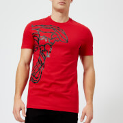 Versace Collection Men's Small Logo T-Shirt - Rosso